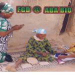 Enumerator attending to identified poor household